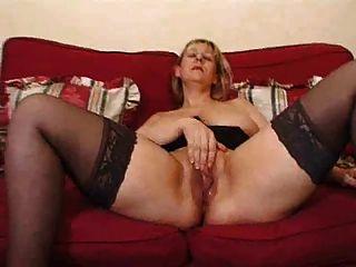 परिपक्व गोरा सुपर बड़ी saggy स्तन