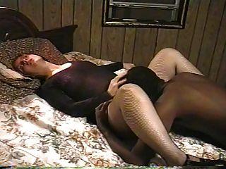 मेरे redheaded मोटी एक और बैल पर ले जा पत्नी