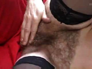 मोजा में बालों परिपक्व कार्यशाला में fucks