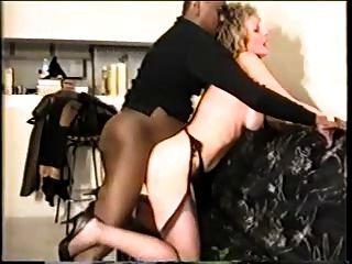 परिपक्व पत्नी काला लंड प्यार करता है