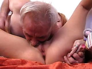 बूढ़े आदमी बकवास लड़की पूर्ण टेप
