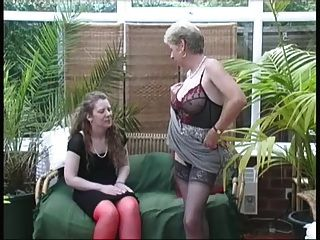 विंटेज गांव महिलाओं गर्मी अलग करना मजेदार