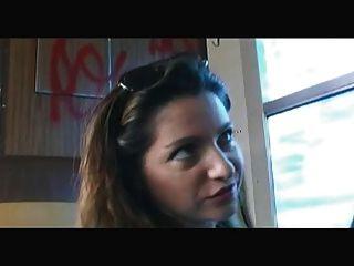 फ्रेंच: सबरीना रिक्की Baise दहेज ले ट्रेन