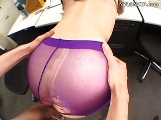 pantyhose बकवास Pantyhose सेक्स