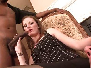 पति cockholded और निगल करने के लिए बनाया