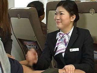 जापानी होस्टेस handjob - सेंसर