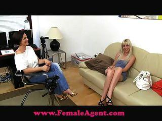 FemaleAgent महिला एजेंट नकली एजेंट बनाम