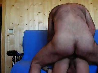 कुछ Bareback कमबख्त का एक उत्कृष्ट दृश्य!(बुढ़े जवान)