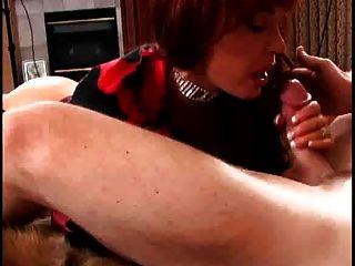 गर्म रेड इंडियन परिपक्व कौगर वैनेसा बेला