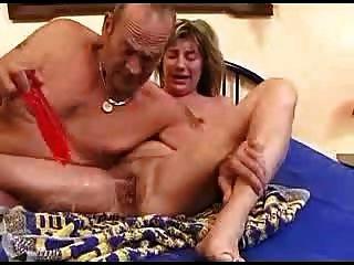 गांठदार परिपक्व जोड़ी बिस्तर सोख 2