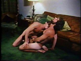 विंटेज समलैंगिक - जैक रैंगलर और जॉर्ज पायने - गहरे नीले रंग 1975
