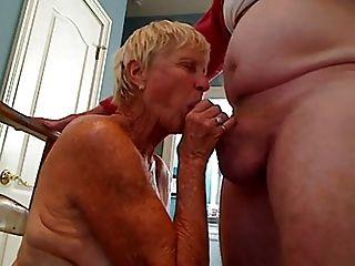 दादी 70 y.o blowjob