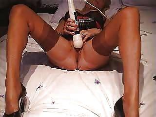 मोजा हस्तमैथुन में परिपक्व