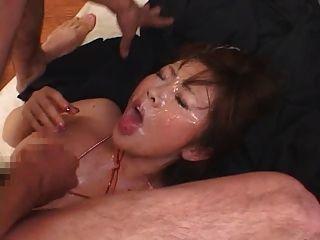 Bukkake के रियो Hamasaki BES