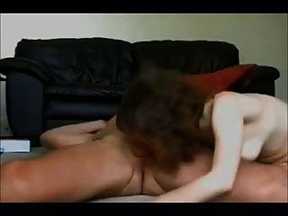 शौकिया पत्नी घर का सेक्स टेप पर गड़बड़ हो जाता है