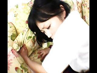 जापानी महिला गधा काम (बिना सेंसर)