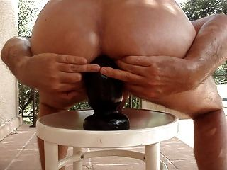 विशाल Buttplug मेरे गधे है