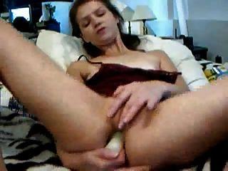 hornybislut: गुदा toying, दूरी वेबकैम पर fisting