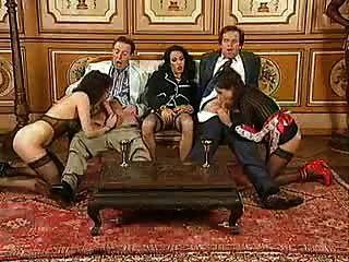 परिपक्व Debora orgie