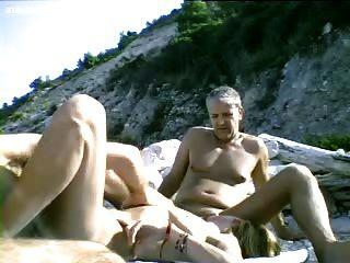 समुद्र तट Dogging