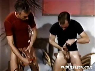 विंटेज समलैंगिक लिंग पंप