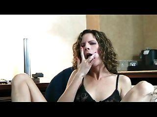 पत्नी संभोग करने के लिए maturbating