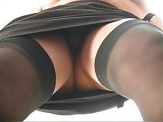 Pantyhose में परिपक्व