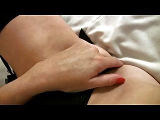 काले मोज़ा उंगलियों में छोटे छाती परिपक्व एमआईएलए