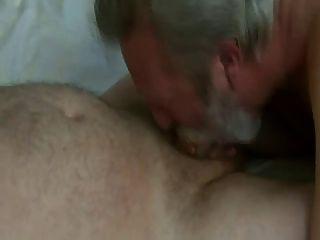 दाढ़ी पिताजी झटका और सह खा