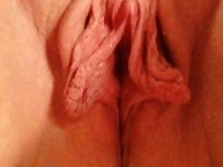 विशाल clit और होंठ