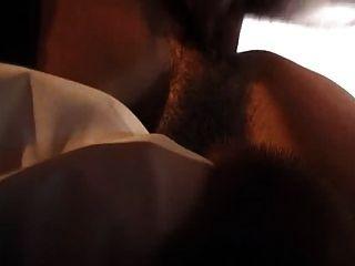 फर कोट में सेक्स गुदा