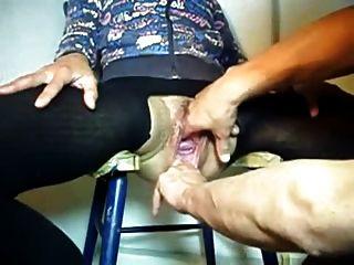 चरम योनी fisting और खींच