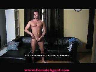 FemaleAgent - अहंकारी कास्टिंग पुरुष प्रभुत्व हो जाता है
