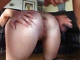 साशा नॉक्स - फूहड़, गुदा rimming डीप गले Buttplug मज़ा!