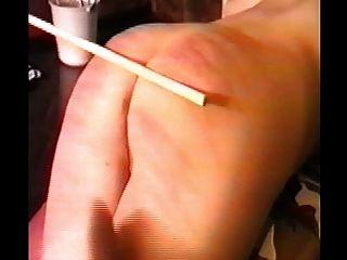 महिला के caned और फिर पर एक पट्टा के साथ गड़बड़