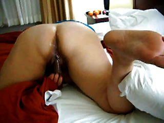 बीबीडब्ल्यू शौकिया एक बिस्तर पर 2 हस्तमैथुन फिल्माया जाता है