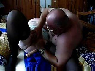 पुराने दादी अभी भी सेक्स प्यार करता है!शौक़ीन व्यक्ति