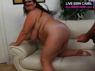 उसकी वाह वसा स्तन भाग 2 के साथ अद्भुत बीबीडब्ल्यू सुपरस्टार