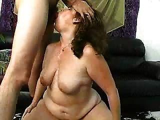 एक बड़ा गधा भाग 3 के साथ परिपक्व औरत