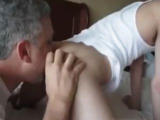 मुर्गा चाट गधा 2 dads rimming 1 लड़का