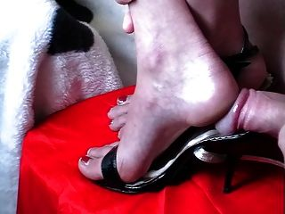 Footjob shoejob संकलन