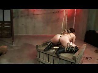 Shibari रस्सी बंधन और पिटाई