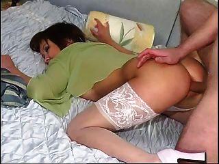 पड़ोसी पत्नी गुदा creampie