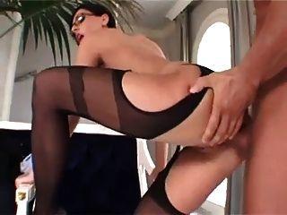 ईवा काले सेक्सी milf गुदा
