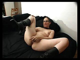 dildo के साथ स्वयं कमबख्त