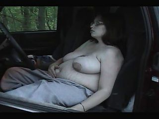 धूम्रपान बुत - मोटा गर्भवती धूम्रपान