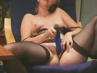 हेल्गा के साथ फोन सेक्स हस्तमैथुन (जर्मनी)