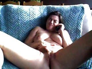 फोन सेक्स के माध्यम से मोटा डबल संभोग