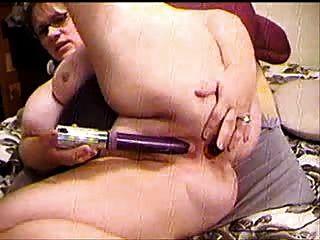 डीपी कैम पर dildoing --bbw--