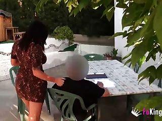 गर्म शिक्षक एक छिपे हुए कैमरे के साथ उसकी असहाय छात्र fucks
